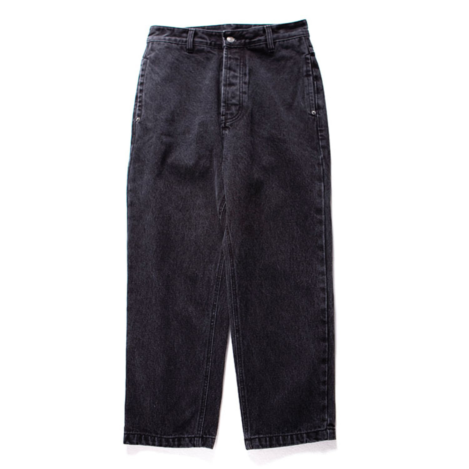 Wased Denim 02 (Washed Black)