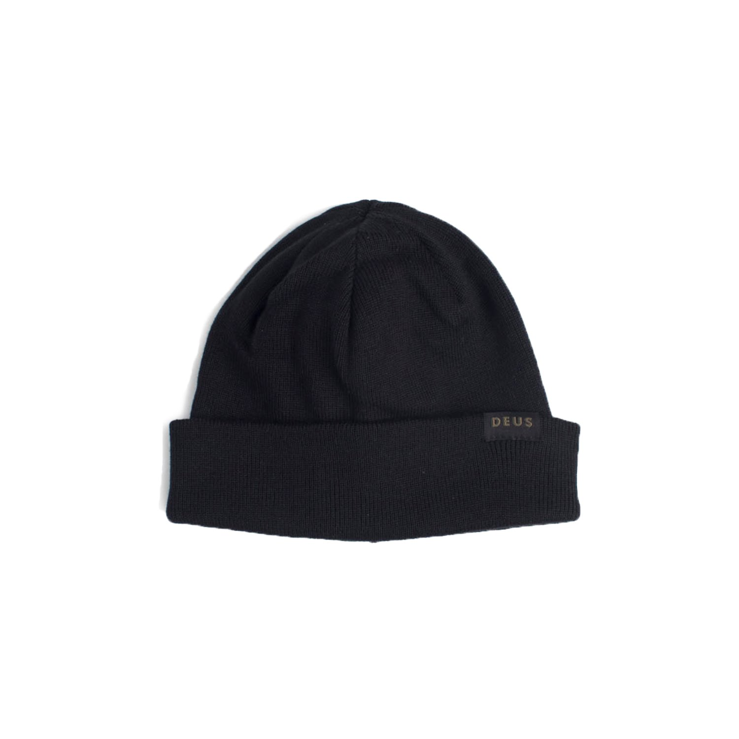 Deus Ex Machina Records Beanie (Black)