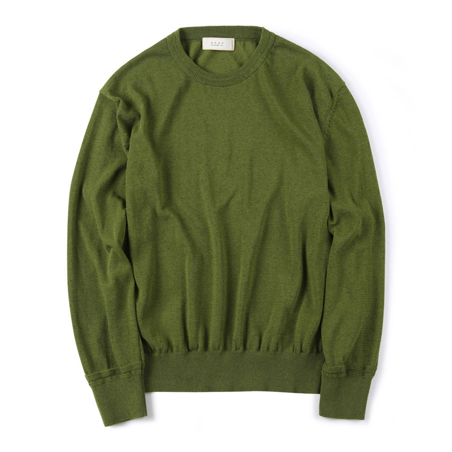 Shirter Sturdy Linen Knit (Green)