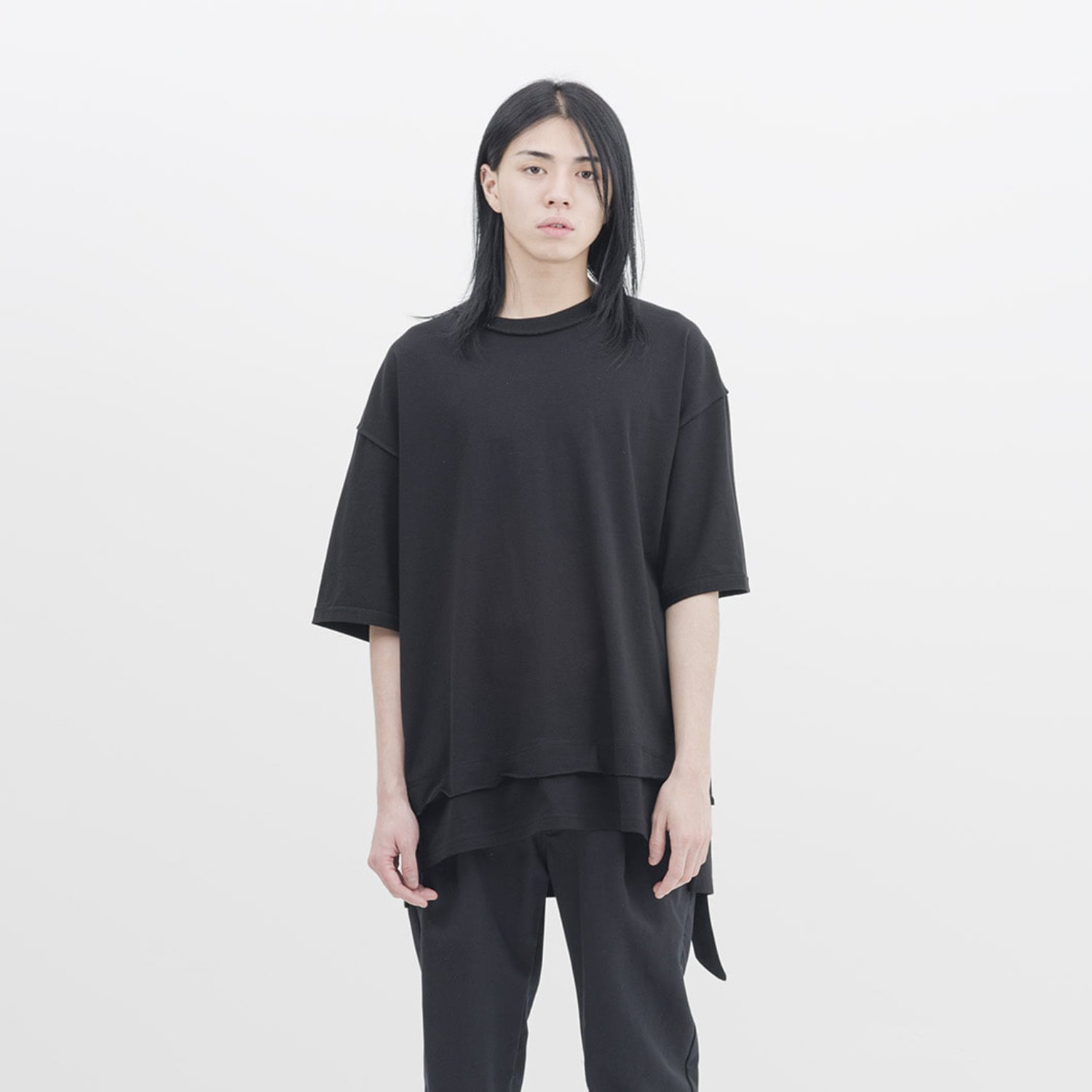 GAKURO Reversible H/S T-Shirt (Black)
