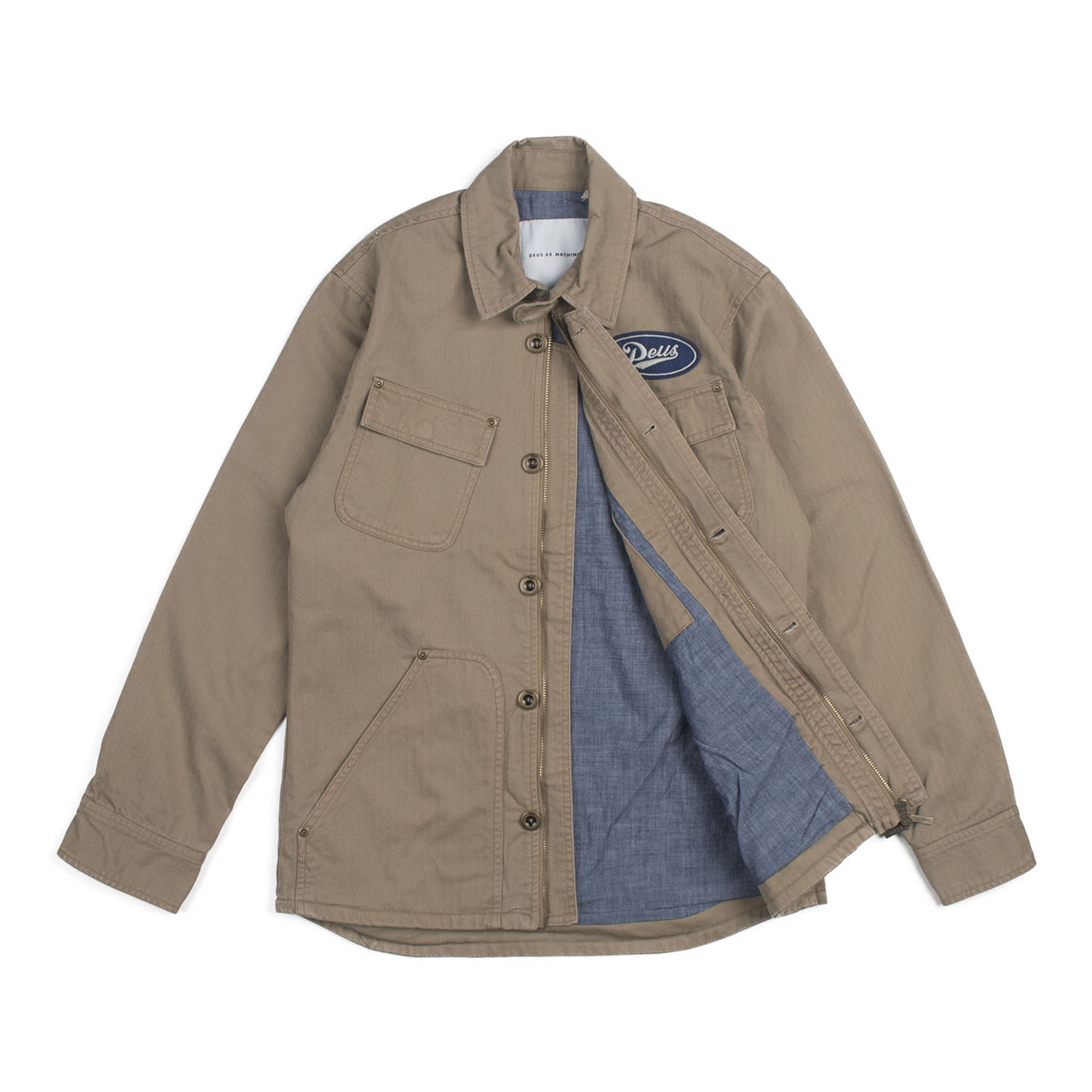 DEUS The Troop Overshirts (Tobacco)
