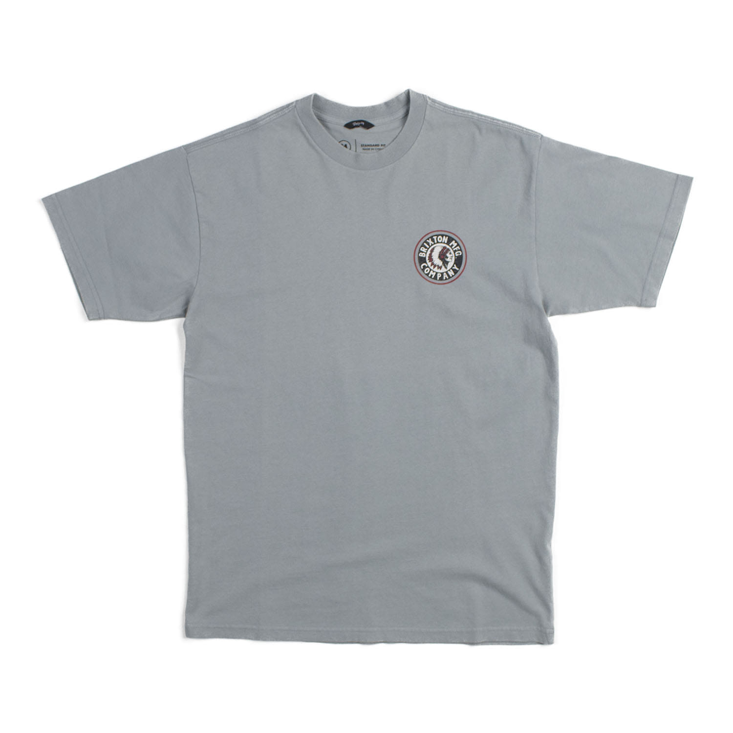Brixtion Rival S/S STND Tee (Blue Stone)