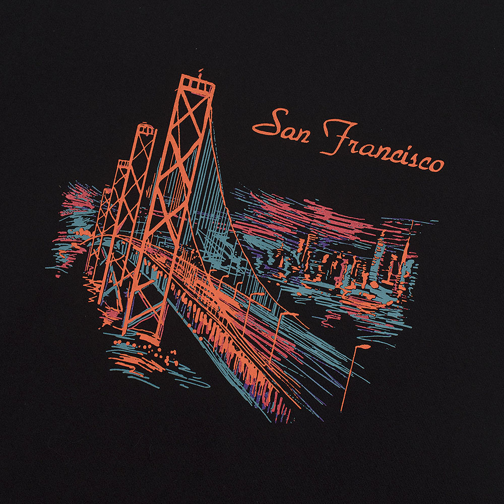 STEELWHEELS San Francisco T-Shirts (Black)
