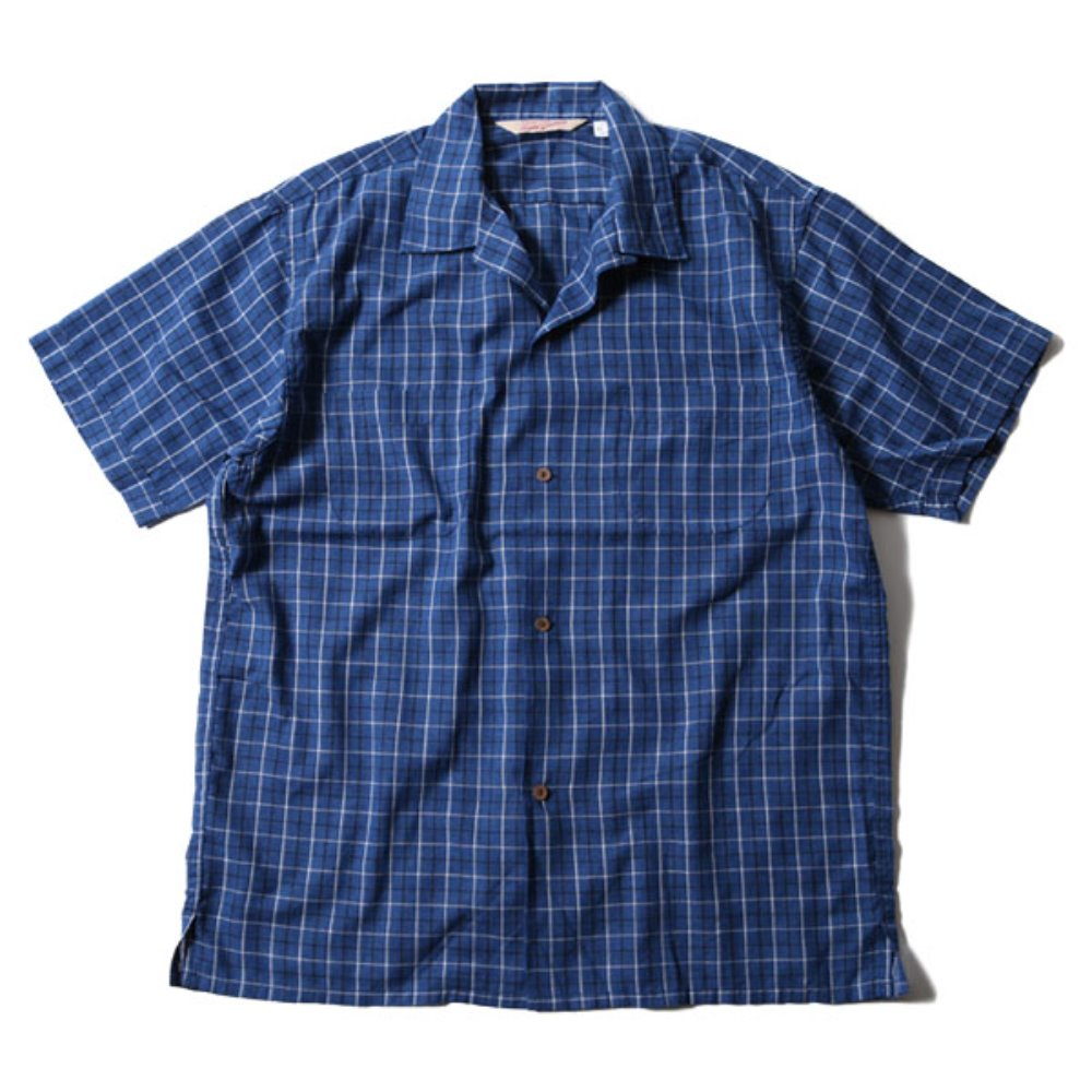 Long Beach Check Shirt (Blue)