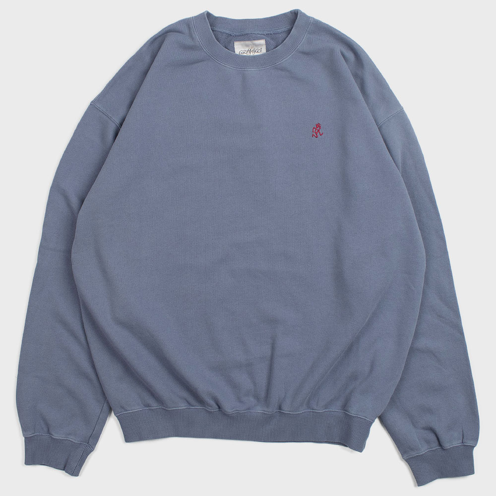 Gramicci Sweat Shirts (Smoky Blue)