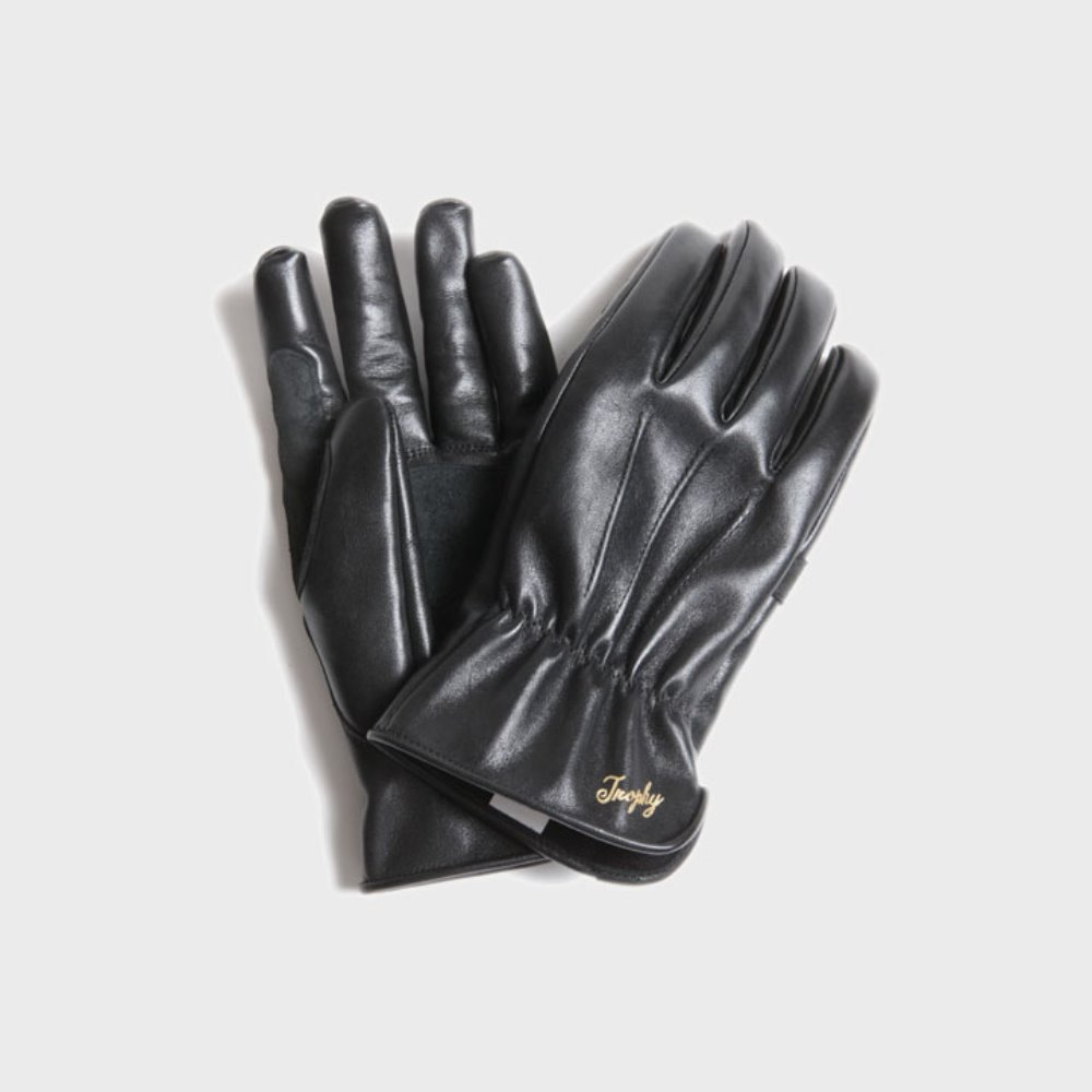 Horse Motorcycle Gloves (Black)