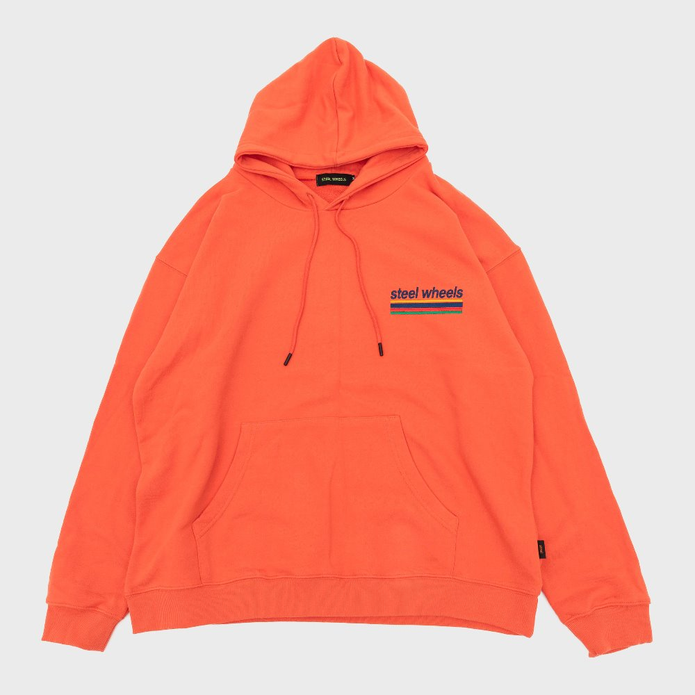 Sports Logo Hoodie (Orange)