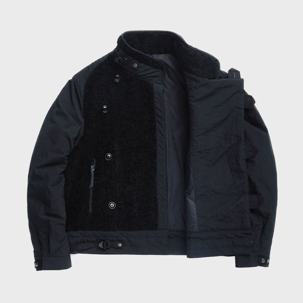 Motorcycle Jumper (Black & Black)
