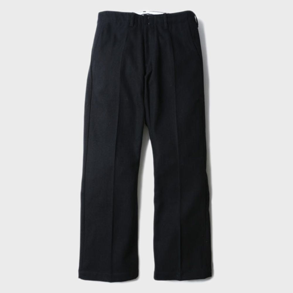 Brooklyn Wool Trousers (Black)
