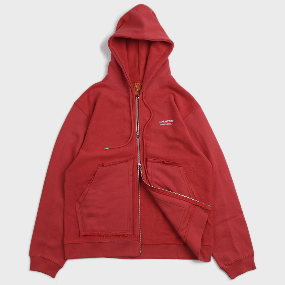 Puzzle Parka (Red)