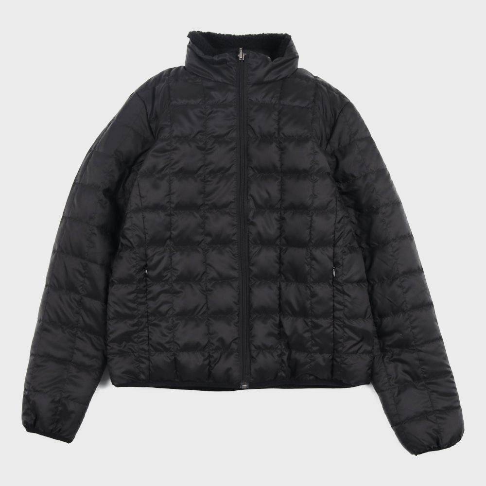 Down x Boa Reversible Down Jacket TAION-R102MB (Black) for woman