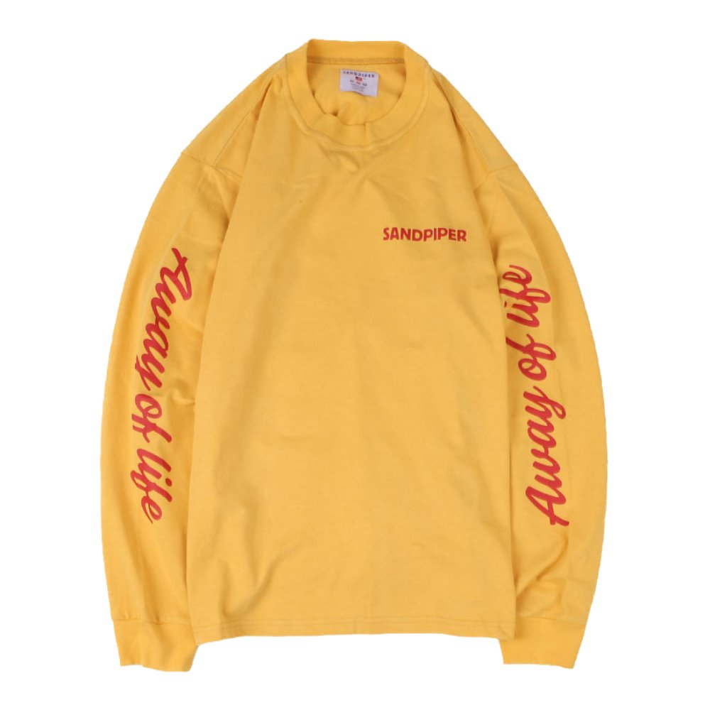 Away Of Life LS T Shirts (Yellow)