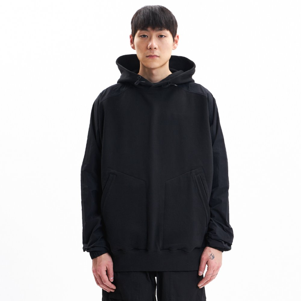 Frog Hooded Sweat - Black