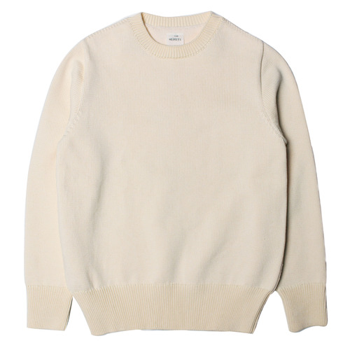 "The Nerdys HARD Cotton Knit Sweat ""off white"""