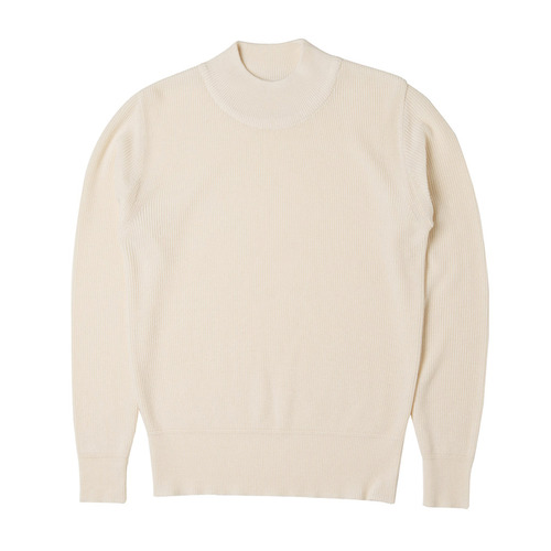 "Needlework mil crew knit ""natural"""