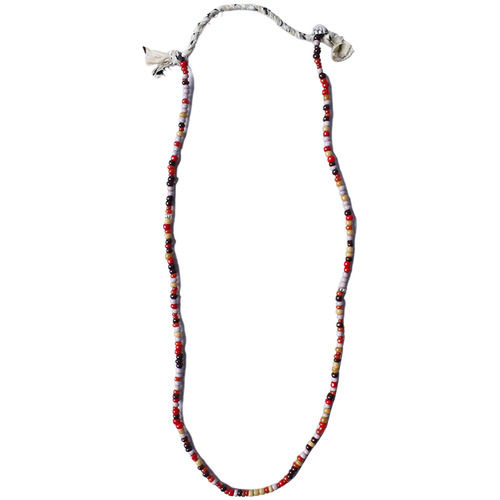 "Northworks Venetian Beads Necklace ""Red mix"""