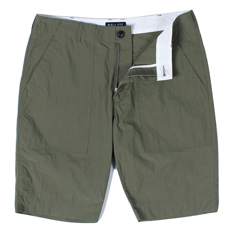 "Ballute Signature Fatigue Shorts ""Olive"""