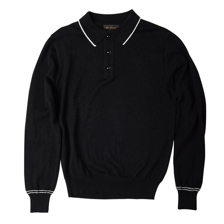 Needlework Knit Polo Shirts