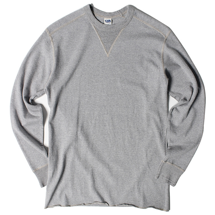 "Pherrow's Front Gadget Long Sleeve T ""Gray"""