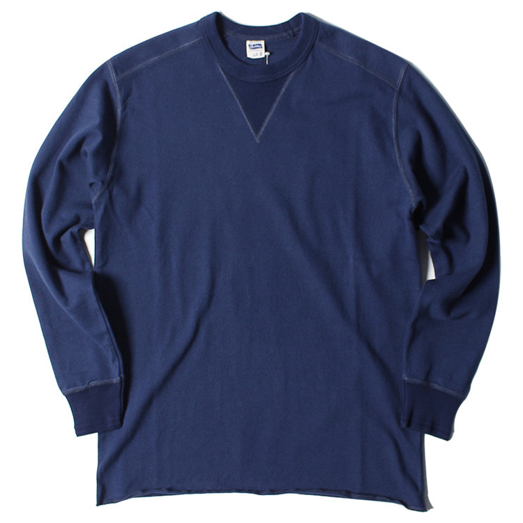 "Pherrow's Front Gadget Long Sleeve T ""Navy"""