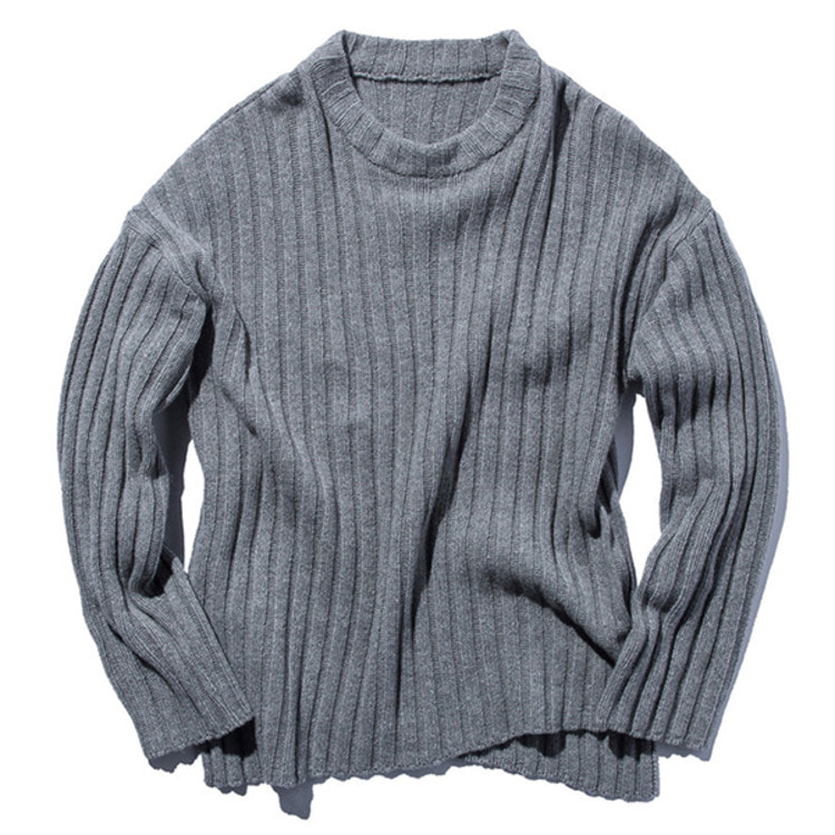 Stand Out Store 5G Knit Sweater (Light Gray)