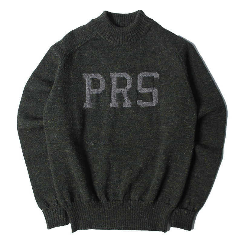 Pherrow's  PRS mock neck jersey knit