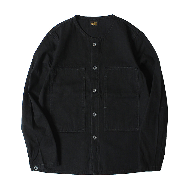 PIG & ROOSTER 2nd Utility Top (Indigo Black)