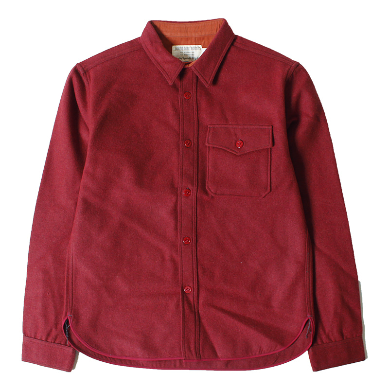 Trophy Clothing CPO Wool Shirts (Red)
