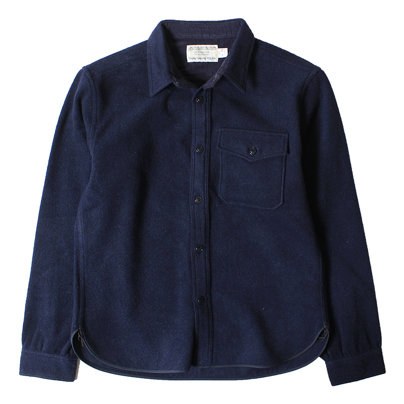 Trophy Clothing CPO Wool Shirts (Navy)