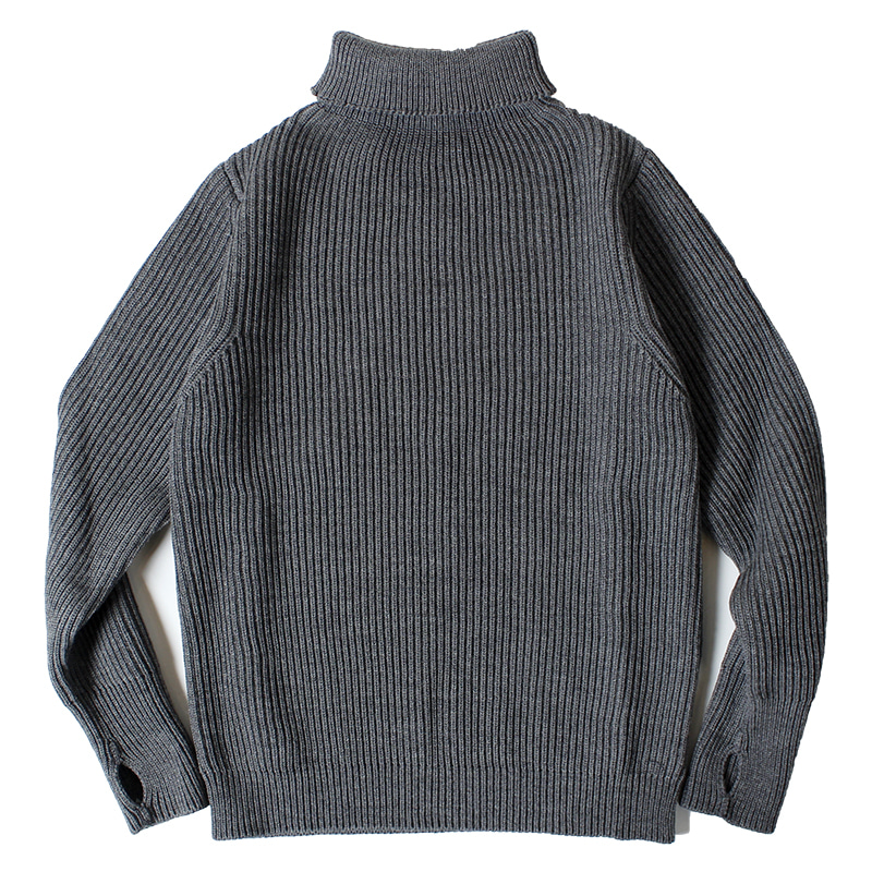 ANDERSEN-ANDERSEN Navy Turtle Neck (Grey)