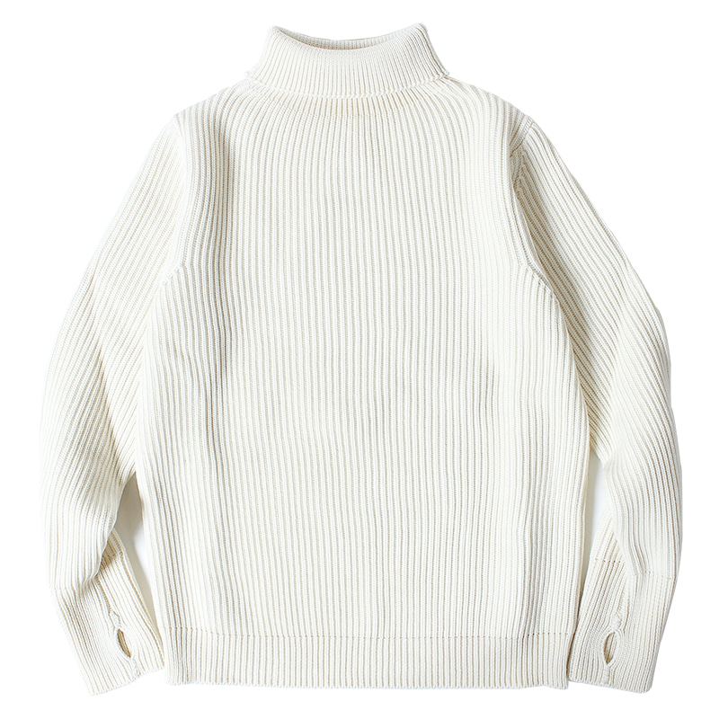 ANDERSEN-ANDERSEN Navy Turtle Neck (off-white)