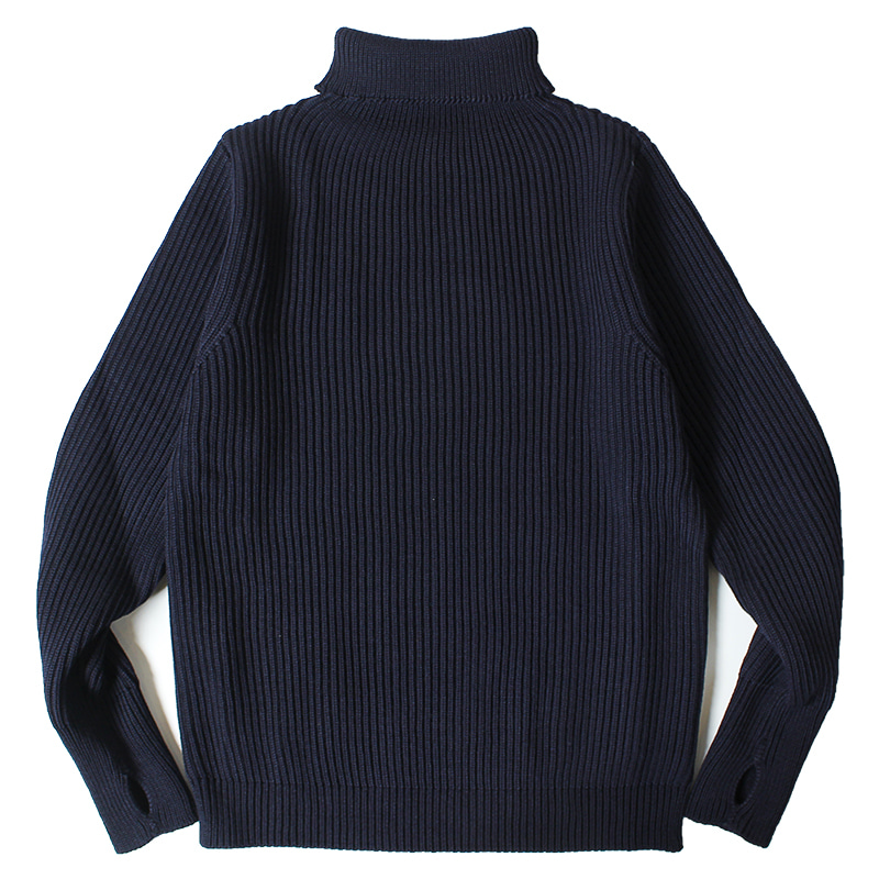 ANDERSEN-ANDERSEN Navy Turtle Neck (Navy)