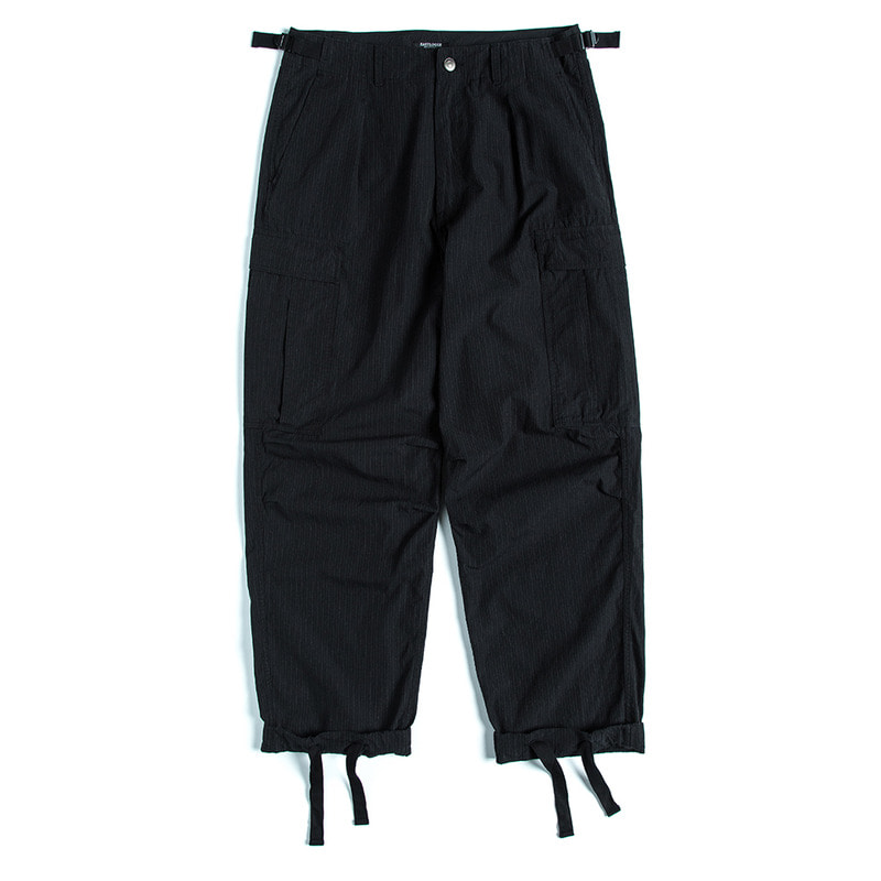 Para Pants (Black Pin Stripe)