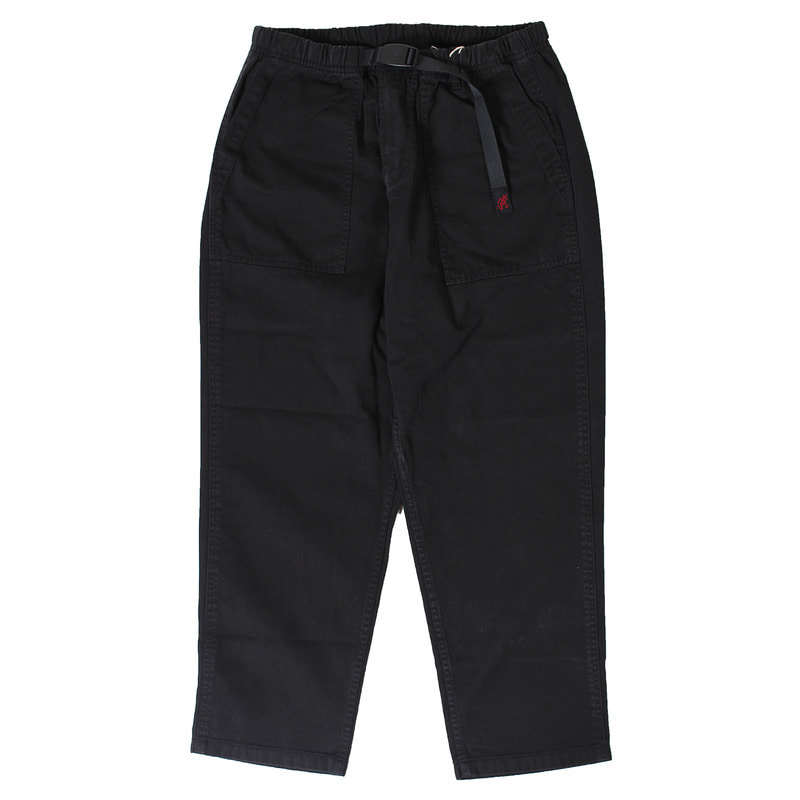 Loose Tapered Pants (Black)