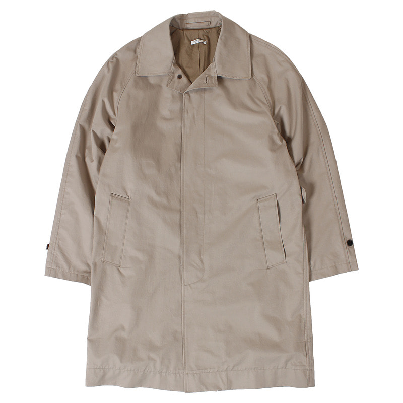 Bar Collar Single Coat (Beige)