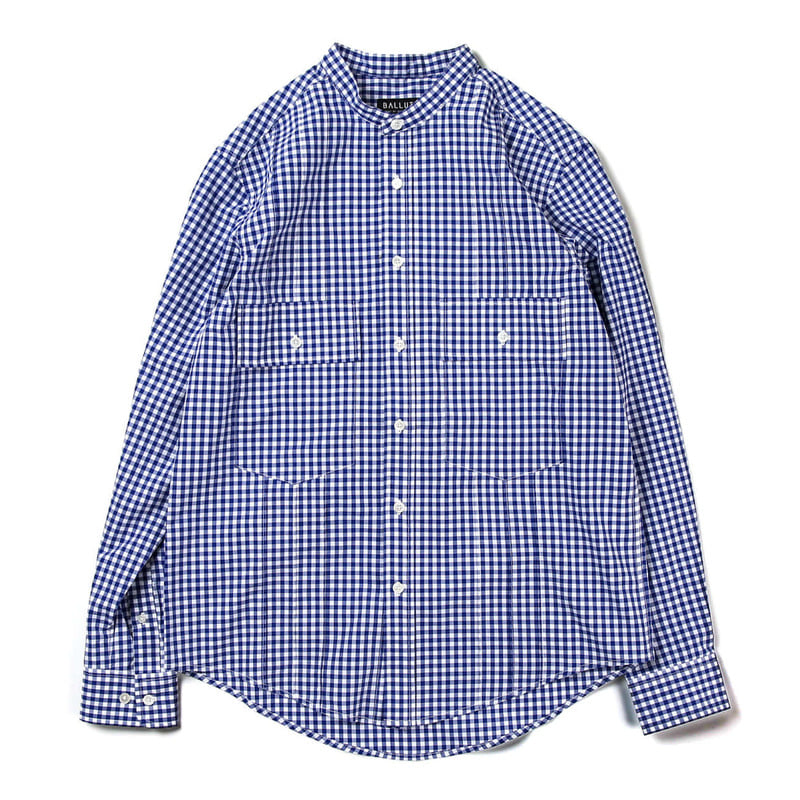 Tuxedo 2 Pocket Shirts (Gingham Check)