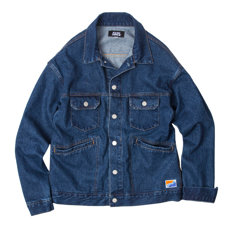 80's Retro Denim Jacket