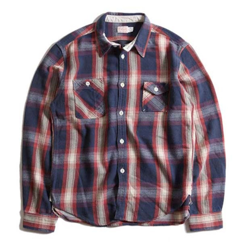 Machine Age Check Shirts (Red)