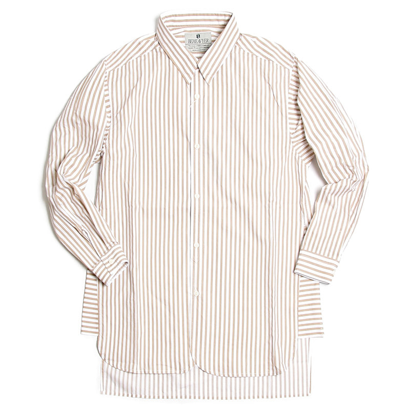 Fly Shirts (Beige Stripe)