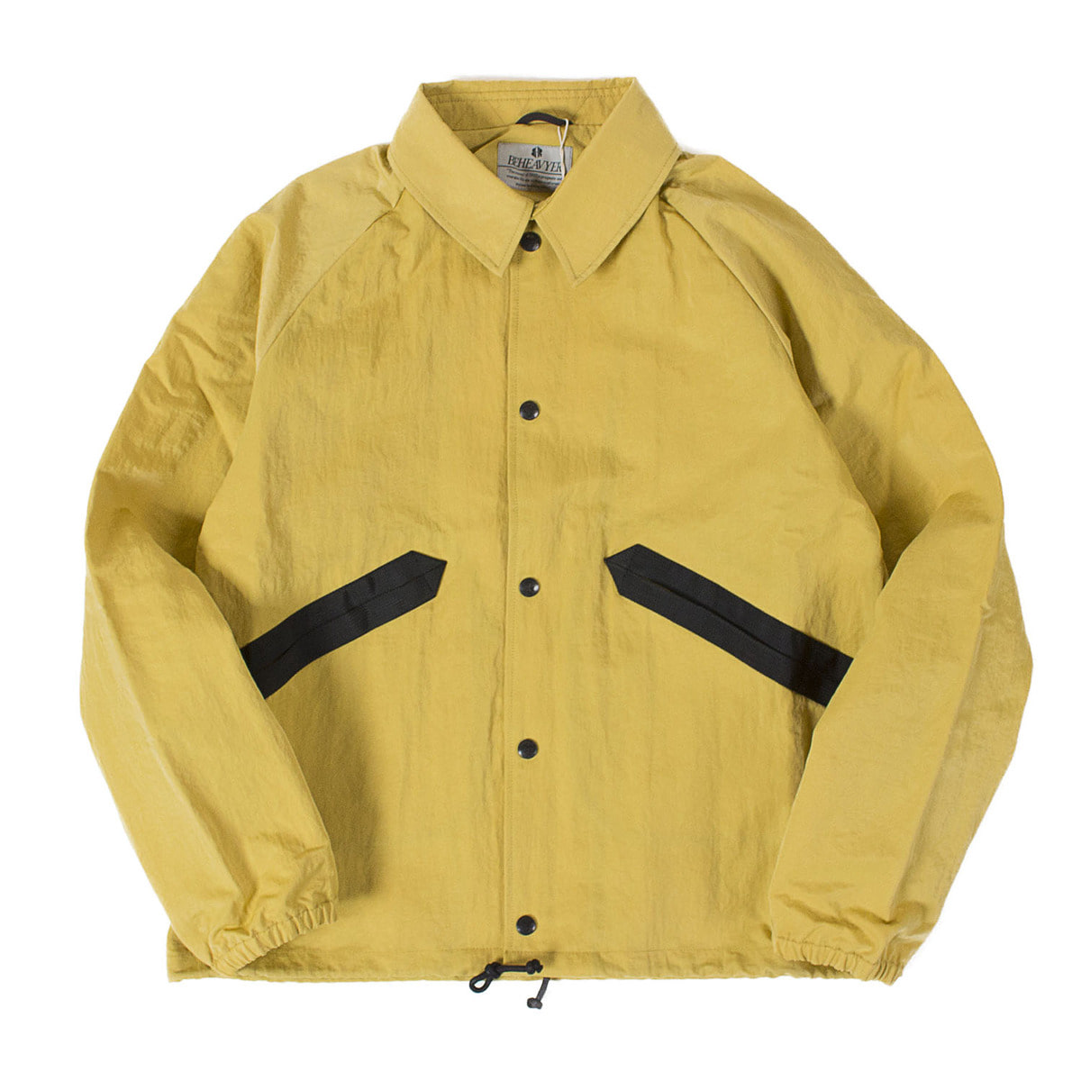 BHR Coach Jacket (Yellow)
