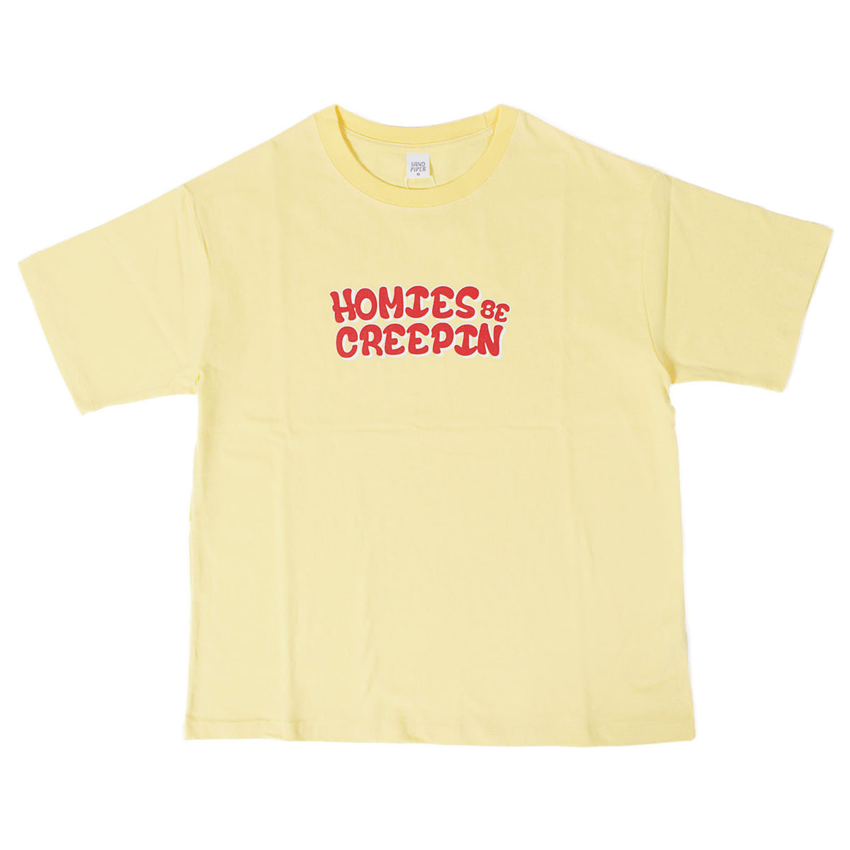 Homies T-shirts (Yellow)