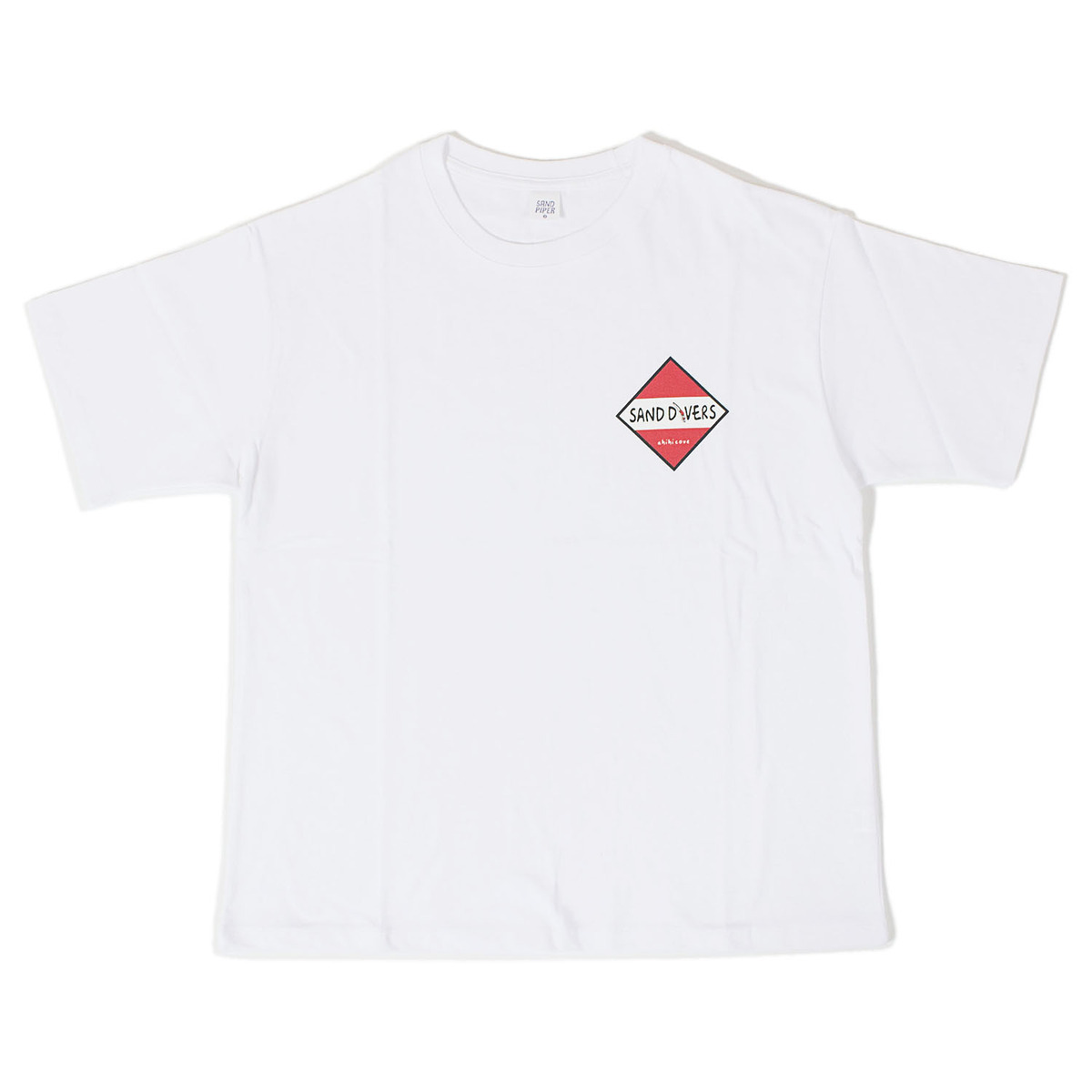 Sand Dive T-shirts (White)