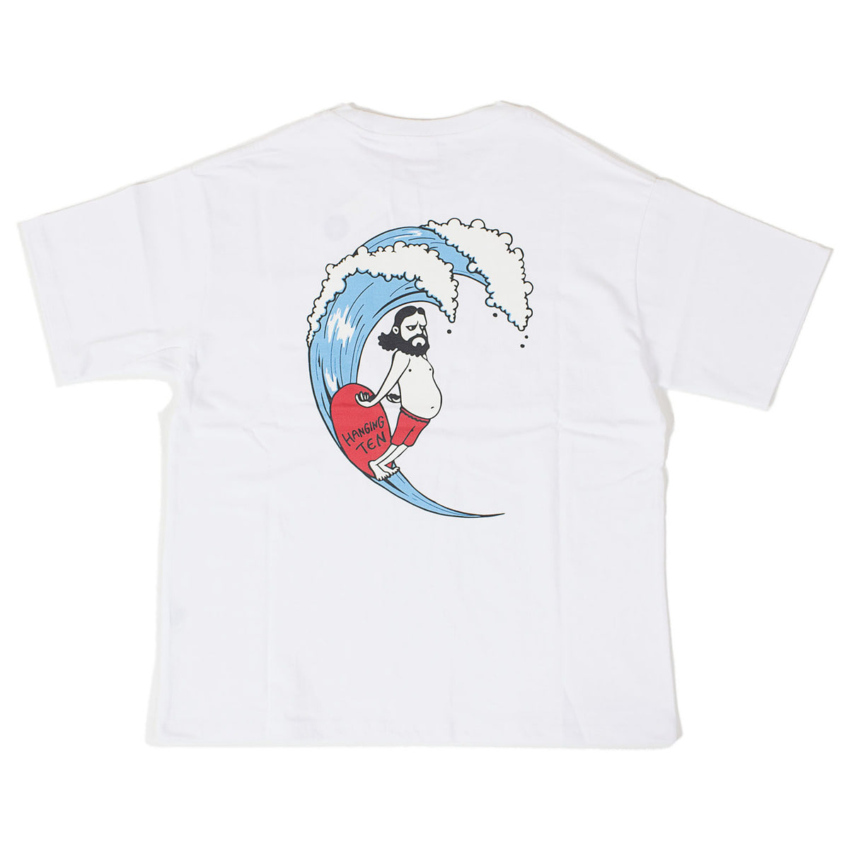 Uncle Surf Pocket T (White)