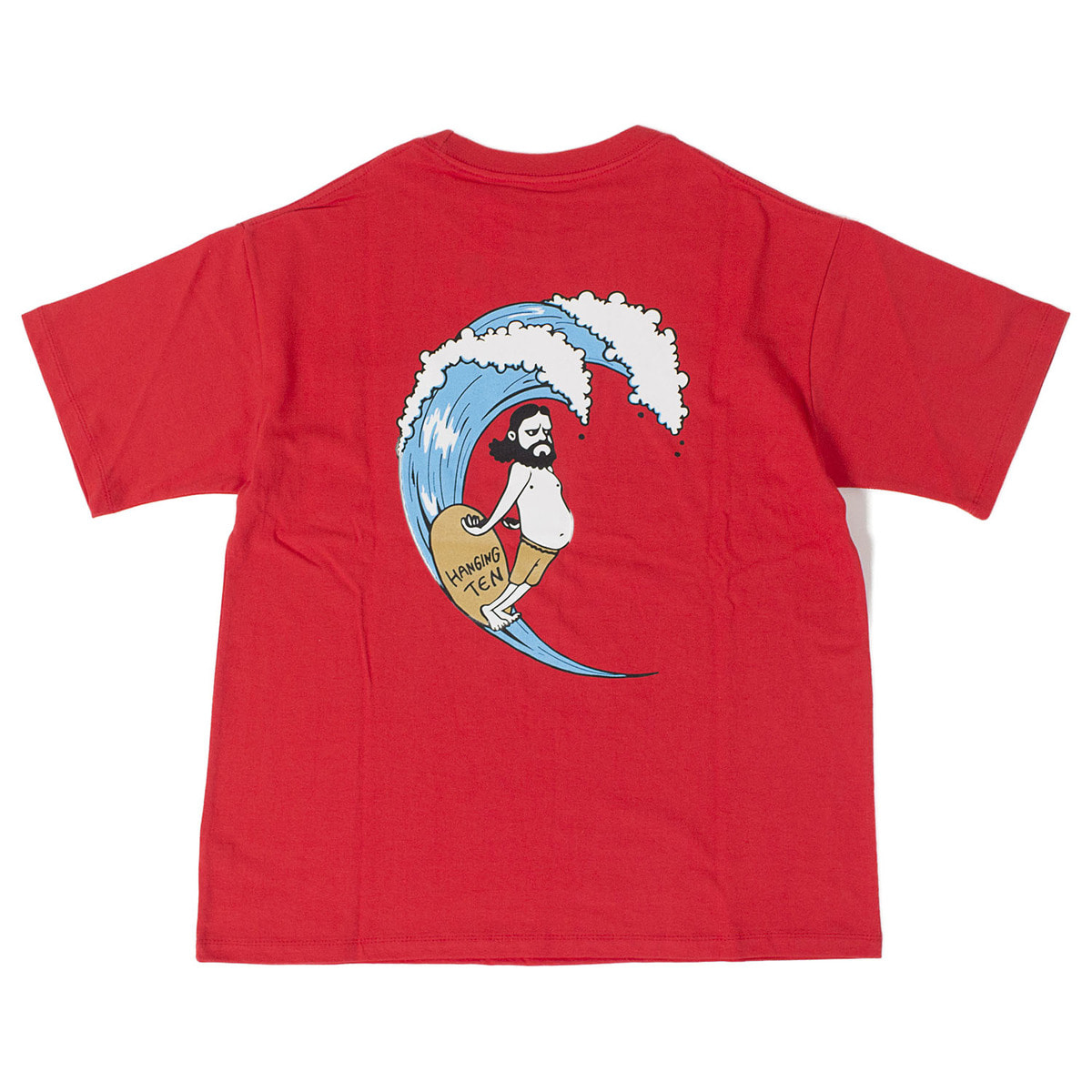 Uncle Surf Pocket T (Red)