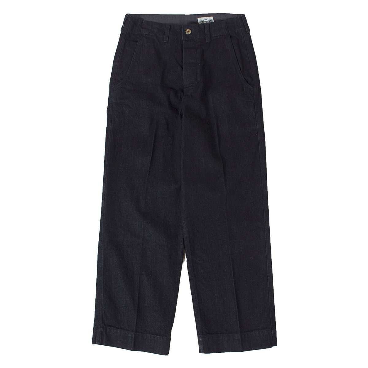 Denim Chino Wide Pants