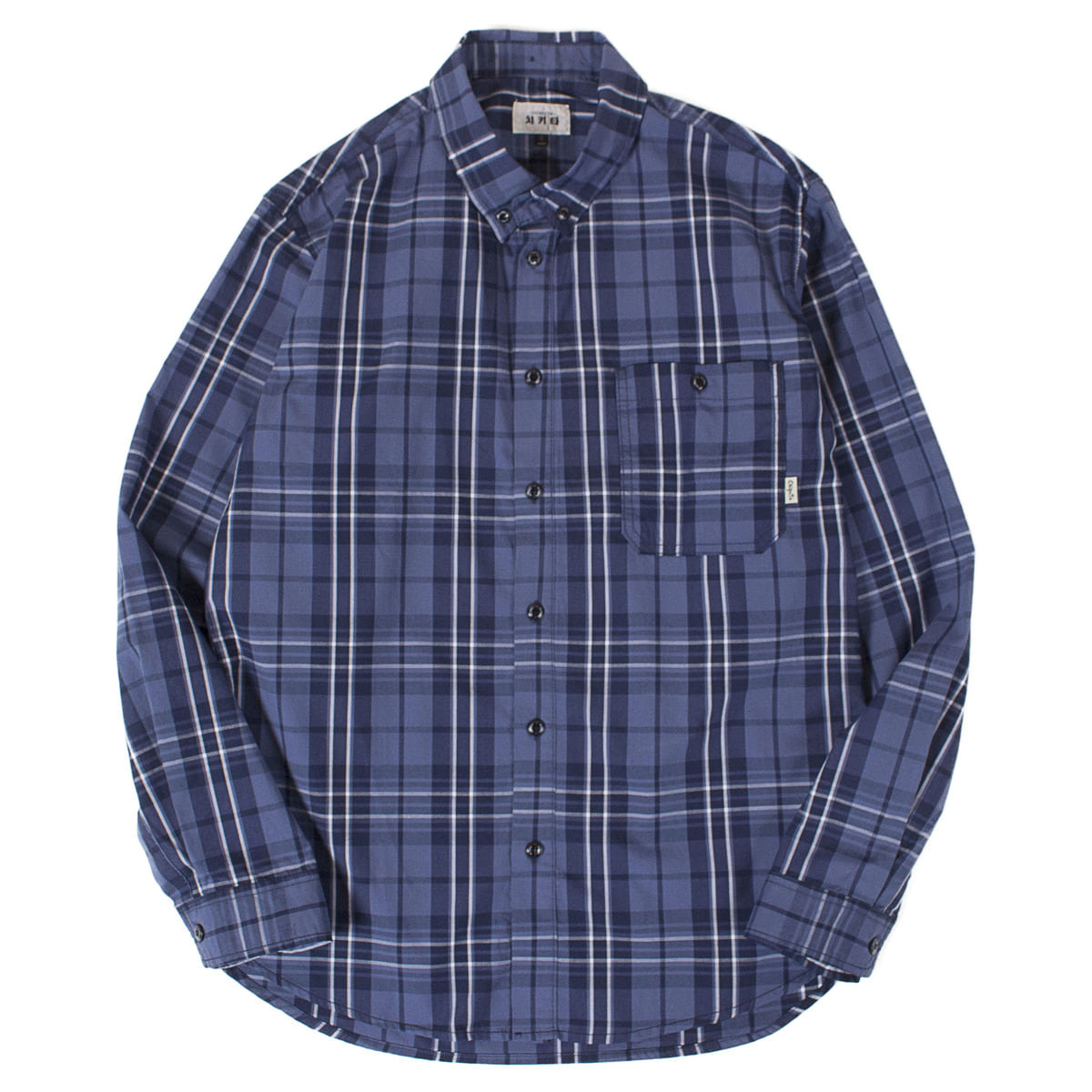 Check Shirts (Blue)