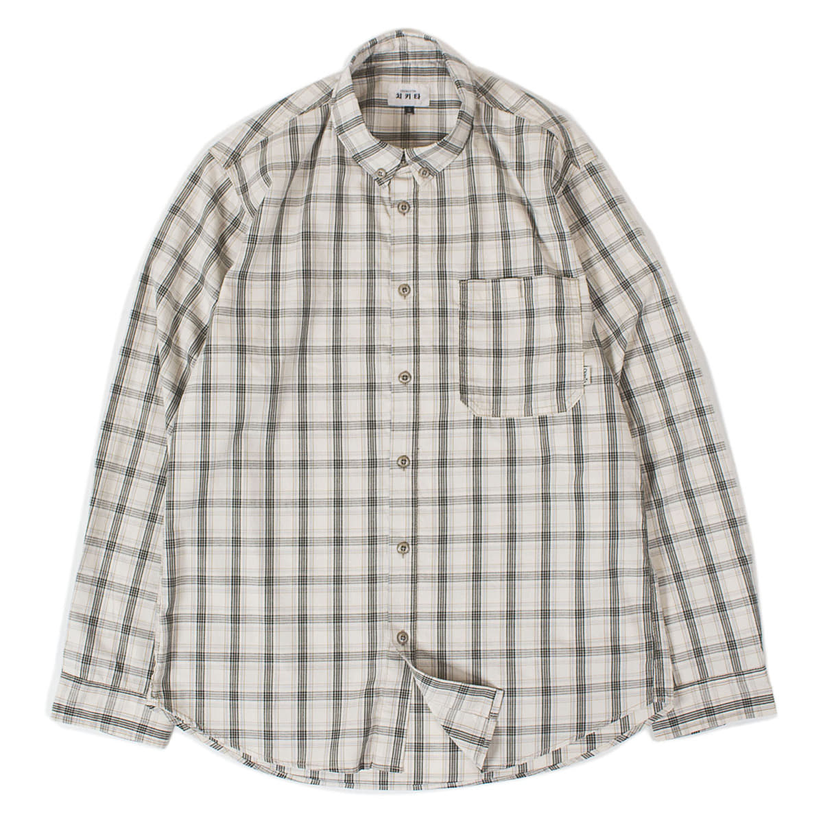 Check Shirts (Khaki)