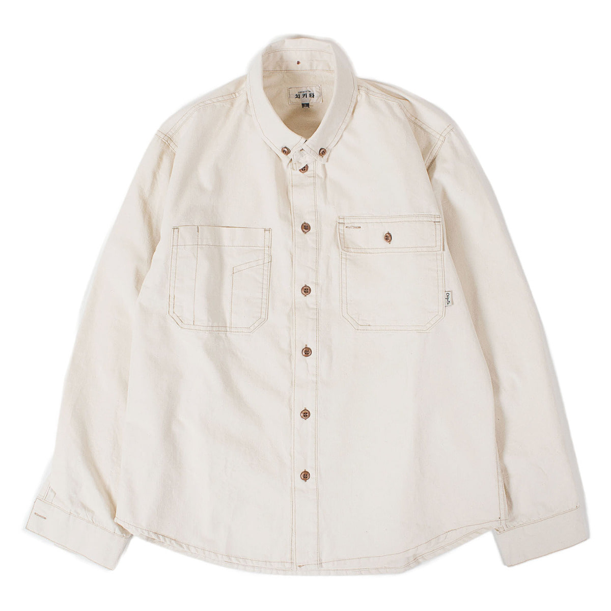 Cotton Work Shirts (Oatmeal)