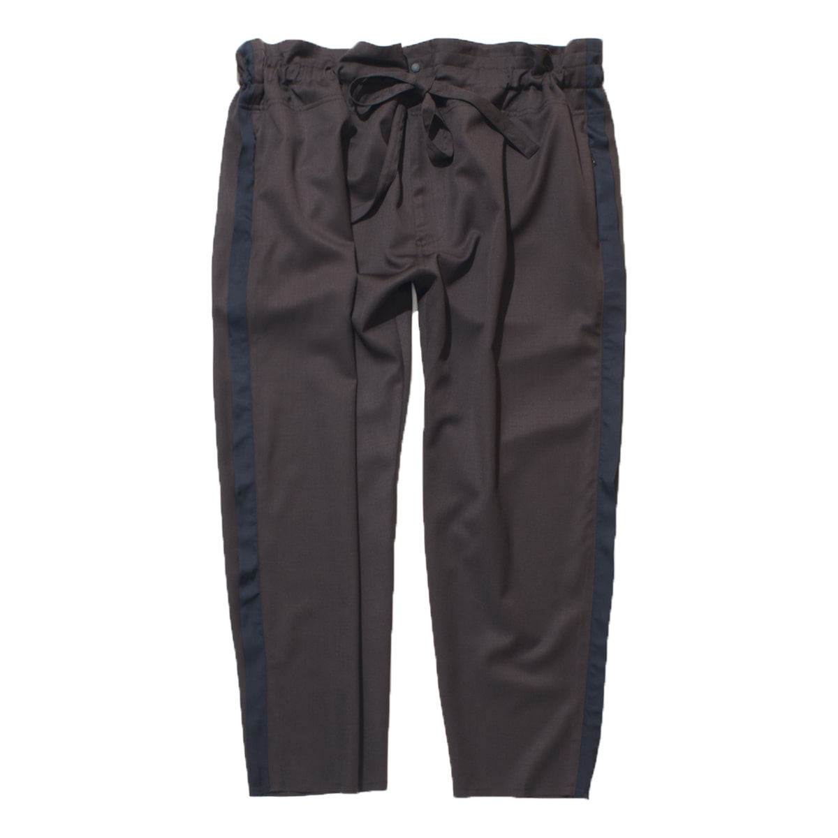 Tapered Wrap Pants (Brown)