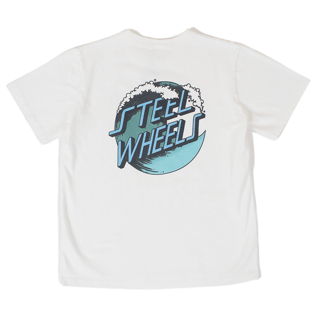 Big Wave T-Shirts (White)